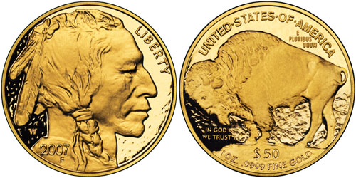 2007 Proof Gold Buffalo Coin