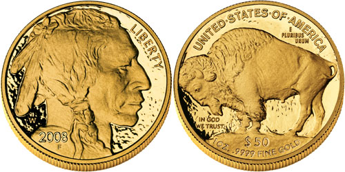 2008 Gold Buffalo Proof