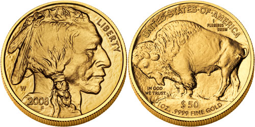 2008-W Uncirculated Gold Buffalo