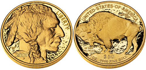 2009 Proof Gold Buffalo
