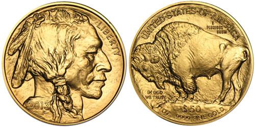 2013 Gold Buffalo